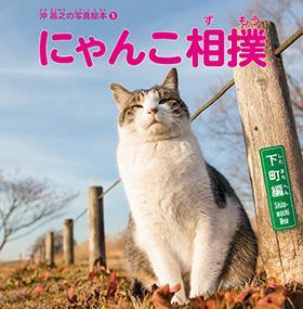 【書籍】沖 昌之の写真絵本1 にゃんこ相撲〈下町編〉