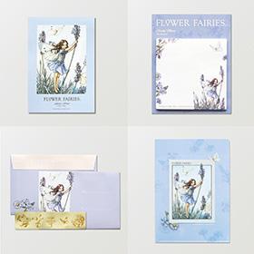 FLOWER FAIRIES ラベンダーの妖精ステーショナリーセット