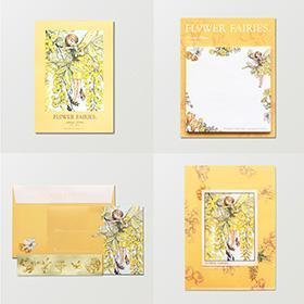 FLOWER FAIRIES キングサリの妖精ステーショナリーセット